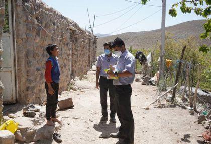 راه اندازی کاروان سلامت شرکت گل گهر در مناطق کم برخوردار روستایی و عشایری (گزارش تصویری)