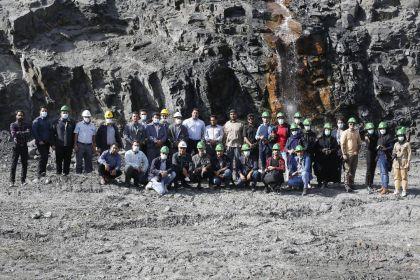 برگزاری اولین تور یکروزه عکاسی معدن در سیرجان (گزارش تصویری)